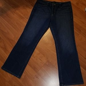 Nine West jeans size 16 straight fit